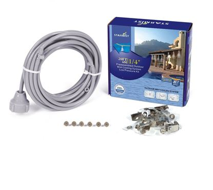 """Picture of 20' Pre-Assembled Mist Cooling Kit 1/4"""""""
