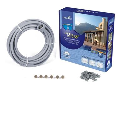 """Picture of 20' Pre-Assembled Mist Cooling Kit 3/8"""""""