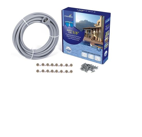Picture of 40' Pre-Assembled Mist Cooling Kit 3/8""