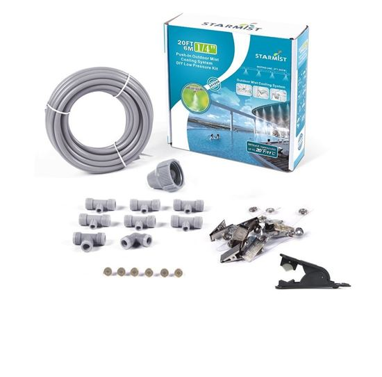 """Picture of 20' Push-In Mist Cooling Kit 1/4"""""""