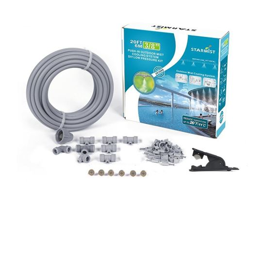 """Picture of 20' Push-In Mist Cooling Kit 3/8"""""""