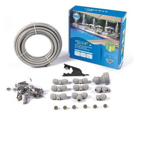 Picture of 20' Slip Lock Mist Cooling Kit 1/4""