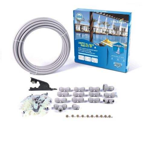 Picture of 30' Slip Lock Mist Cooling Kit 3/8""
