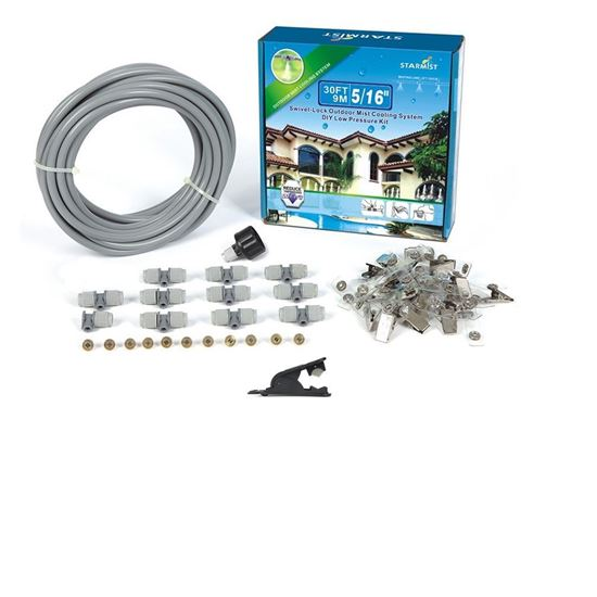 Picture of 20' Swivel Lock Mist Cooling Kit 5/16""