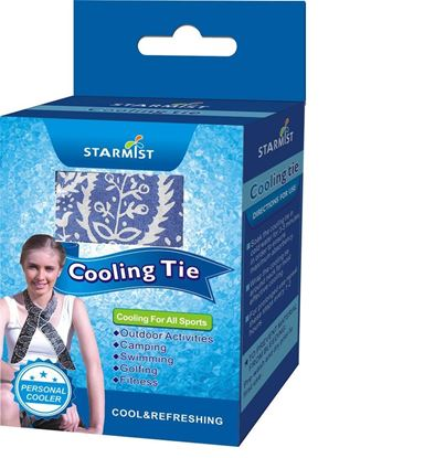 Picture of Cooling Tie in Retail box, Blue