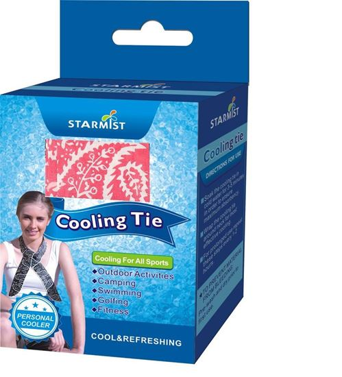 Picture of Cooling Tie in Retail box, Red