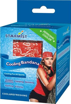Picture of Cooling Bandana, Red