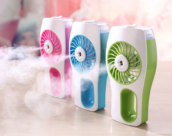 Picture of Sunneday USB Rechargeable Misting Fan