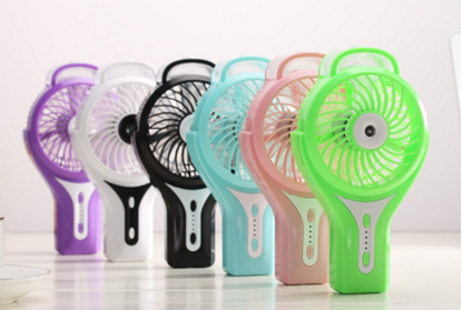 Picture of Sunneday 3 Speed USB Rechargeable Misting Fan